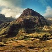 A View Of Glencoe. Poster