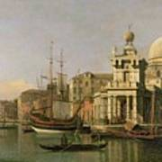 A View Of The Dogana And Santa Maria Della Salute Poster