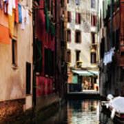 A Walk In Venice Poster