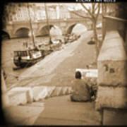 A Walk Through Paris 1 Poster