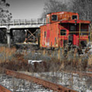 Abandon Caboose Poster
