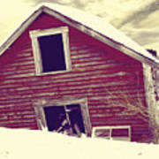 Abandoned Barn Poster