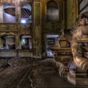 Abandoned Chapel Of An Important Liguria Family II - Cappella Abbandonata Di Famiglia Ligure 2 Poster