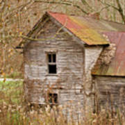 Abandoned Farmhouse In Kentucky Poster