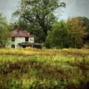 Abandoned Farmhouse Poster