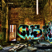 Abandoned, Hdr Poster