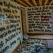 Abandoned House, Full Of Hope Poster