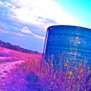 Abandoned Oil Storage Tank Poster