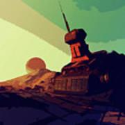 Abandoned On An Alien World Poster