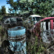 Abandoned Vehicles - Veicoli Abbandonati  1 Poster