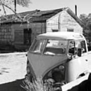 Abandoned Volkswagen Van Poster
