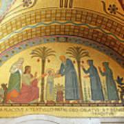 Abbey Mosaic Poster