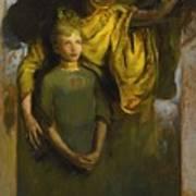 Abbott Handerson Thayer 1849 - 1921 Boy And Angel Poster