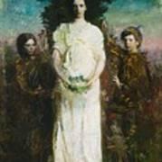 Abbott Handerson Thayer - My Children Poster