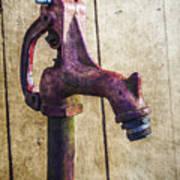 Abbott's Mill Water Spigot Poster