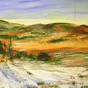 Aberdeen Winter Landscape Poster