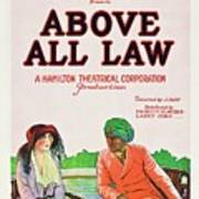 Above All Law Poster