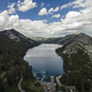 Above Echo Lake Poster
