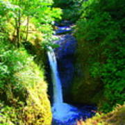 Above Onionta Falls Poster