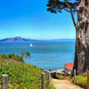 Above San Francisco Bay Poster