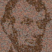 Abraham Lincoln Penny Mosaic Poster by Paul Van Scott