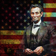 Abraham Lincoln The President  Poster