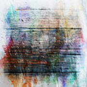 2e Abstract Expressionism Digital Painting Poster