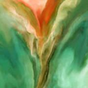 Abstract Bird Poster