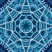 Abstract Blue 19 Poster