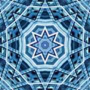 Abstract Blue 22 Poster