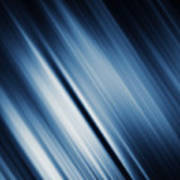 Abstract Blurred Dark Blue  Background Poster
