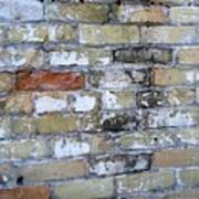 Abstract Brick 10 Poster
