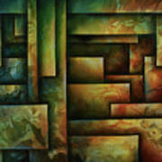 Abstract Design 102 Poster by Michael Lang