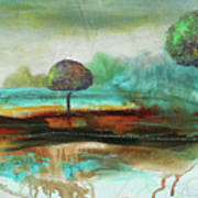 Abstract Fantasy Landscape Poster