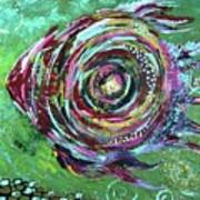 Abstract Fish Poster