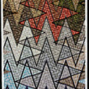 Abstract Floor  Poster