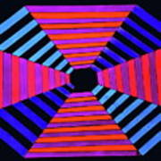 Abstract Fun Tunnel Poster