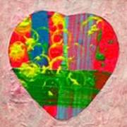 Abstract Heart 310118 Poster