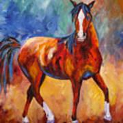 Abstract Horse Attitude Poster