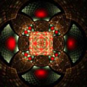 Abstract Mandala 2 Poster