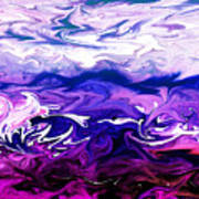Abstract Ocean Fantasy One Poster