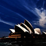 Abstract Of Sydney Opera House Poster