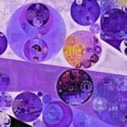 Abstract Painting - Blackcurrant Poster