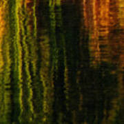 Abstract Reeds Triptych Bottom Poster