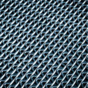 Abstract Rubber And Iron Mat Poster