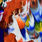 Abstract Series N1015bp Copy Poster