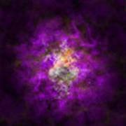 Abstract Stars Nebula Poster