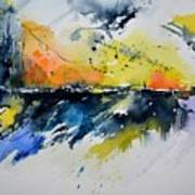 Abstract Watercolor 7007555 Poster