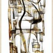 Abstraction 2431 Poster