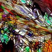 Abstracto En Dimension Poster